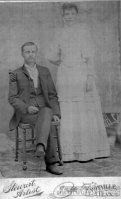 Jefferson and Rebecca (Kittrell) Kinser