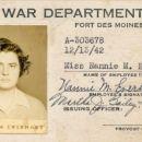 Lt. Nan M. Everhart - ID Card