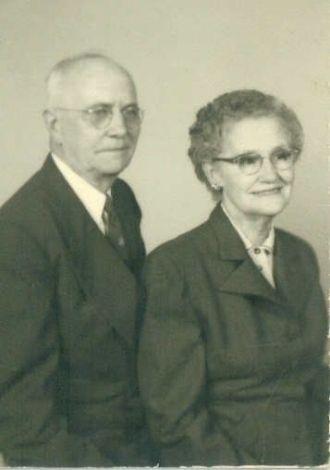 George Washington & Lyda Mae Teague Shepherd