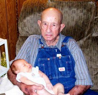 Howard Slocter n G'G'grandson Michael