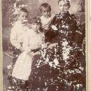Amelia A. Lyon-Burch and children