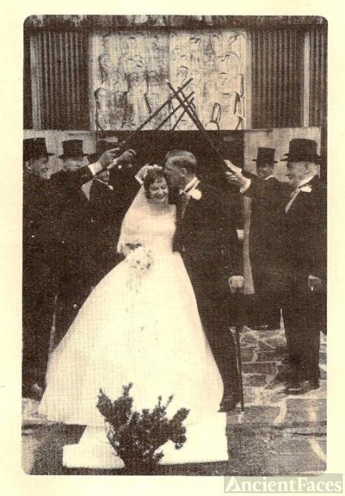 Alice Barbara (Brechin) O'Hearn wedding