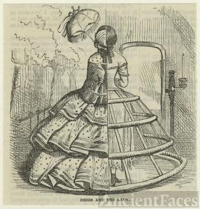 1850 Crinoline