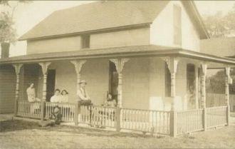 Frank C.  Holcomb Home