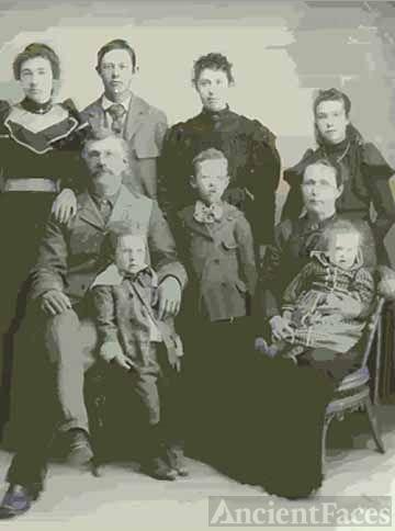 Laban Oaks PARKER Family
