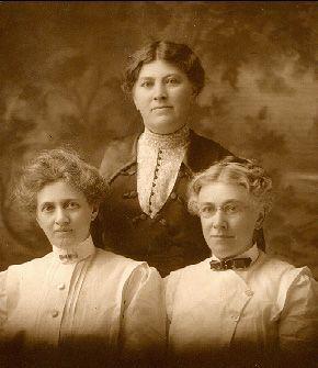 Mary, Anna, & Frances Attein