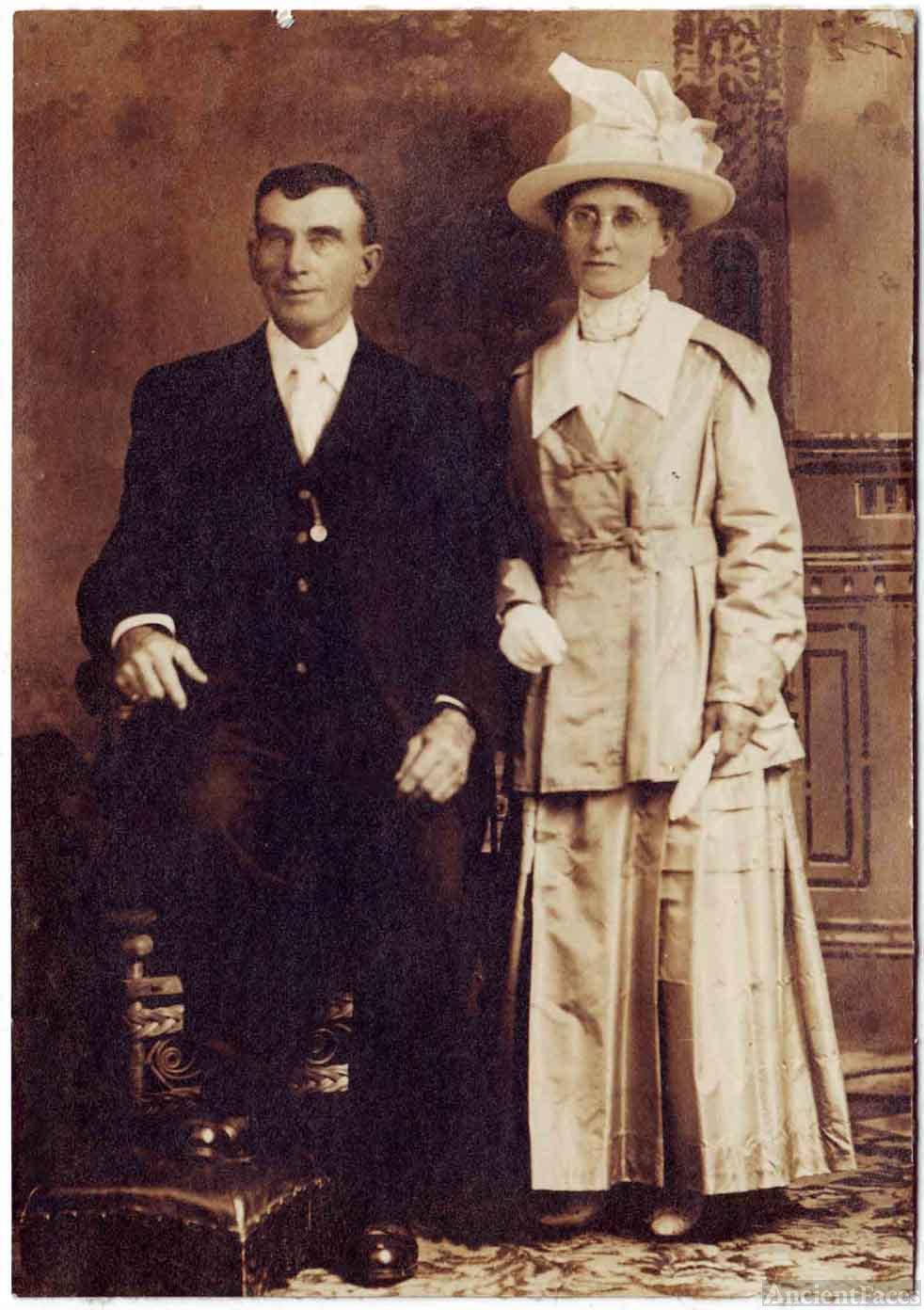 George Sampson & Laura Stewart