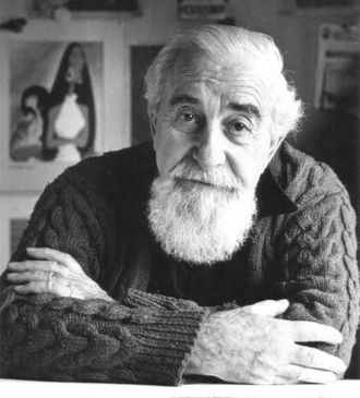 A photo of Al Hirschfeld