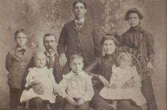 Levi & Maryetta Binkley Family