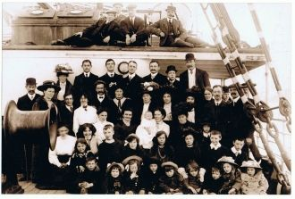 Tainui passengers, 1910 New Zealand