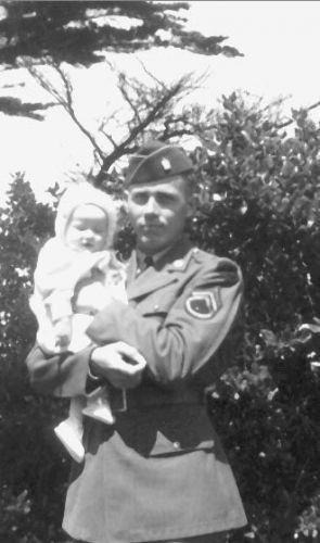 James Hannigan & dtr, Karen Pacific Grove 1942