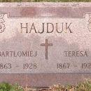 Teresa and Bartholomeus Hajduk gravesite