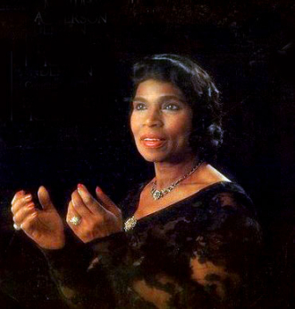 A photo of Marian Anderson