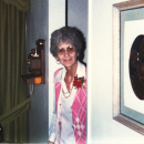 Mom at the Vista house sometime in the 1980's
