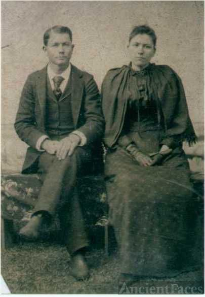 Wedding Day of John and Mettie Andress