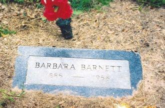 Barbara Pace Gibson Barnett