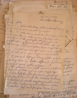 WWII letters