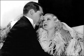 Cary Grant and Mae West