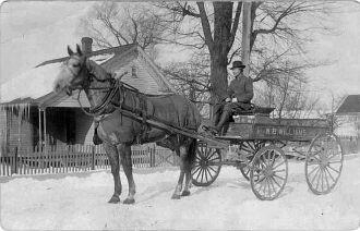 Butch Green and Wagon
