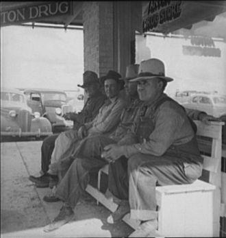 West Texas, Dust Bowl 1937