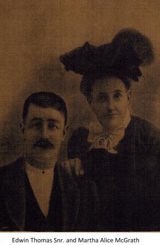 Martha and Edwin Mcgrath Sr.