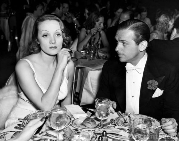 Douglas Elton Fairbanks Jr. & Marlene Dietrich