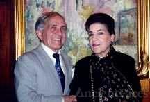 Tony Amato and Licia Albanese