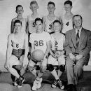 Heavener or Hodgen High School 1951 Basketball
