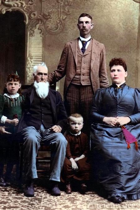 Joseph Baughman family