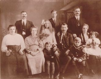 Horvath/Chaosky Family 1920