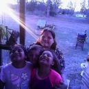 Osha Ann Harrison and children