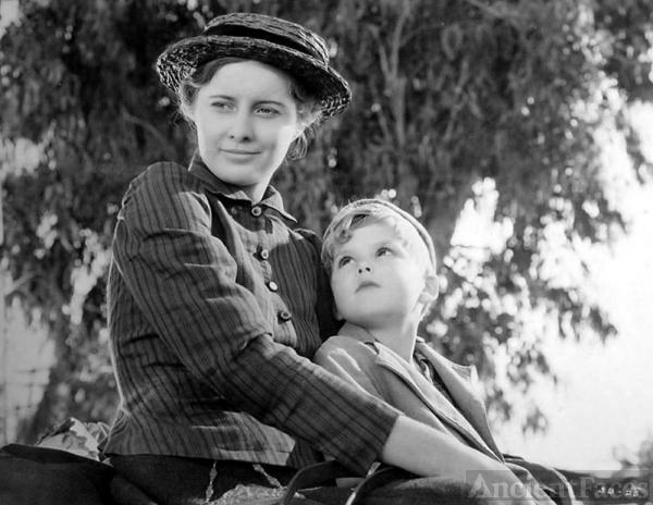 Dick Moore & Barbara Stanwyck