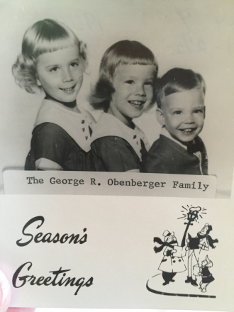 Obenberger Family, 1964