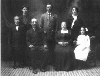 Johann Schick Family, Minnesota 1915