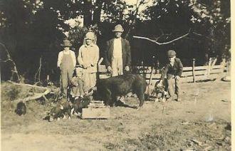 Asa & Rose (Carr) Neal's Family, Abt 1917