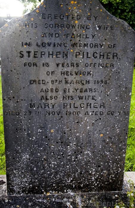 Stephen & Mary Pilcher gravesite