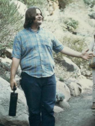 Richard in Santa Barbara - 1975