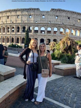 Ally and Jamie Richardson, Rome