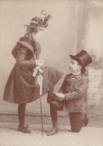 Leela Crawford and George Engel