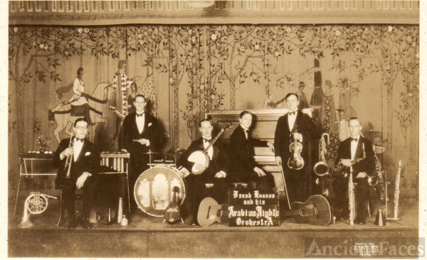Frank Hanson and The Arabian Knights