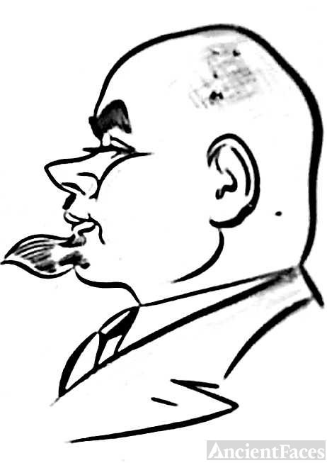 Caricature Mayor Krisius E Vagneris Wagner