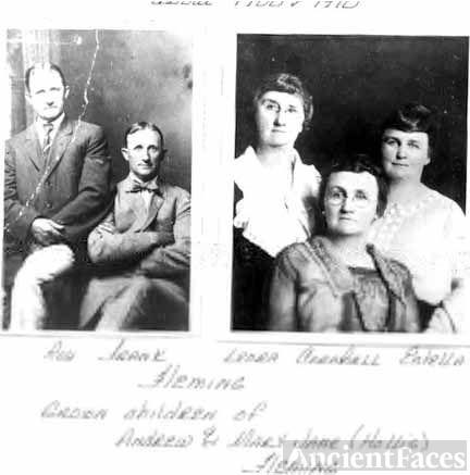 Roy, Frank FLEMING & sisters