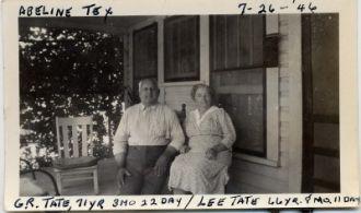 Bob and Lee Wilhelm Tate