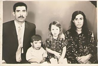 Ali Ganbarzadeh family, Iran 1969