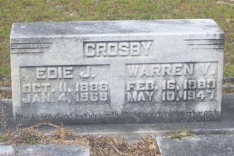Warren Vasco Crosby and Edith J. Dyess