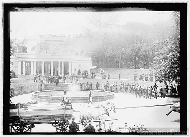 French Blue Devils, May 12, 1915 at White House,...