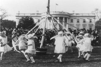 Easter Maypole - White House Egg Roll