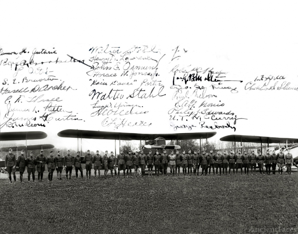 World War One Bomber Pilots & Crews