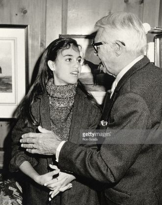 Jennifer and Cary Grant