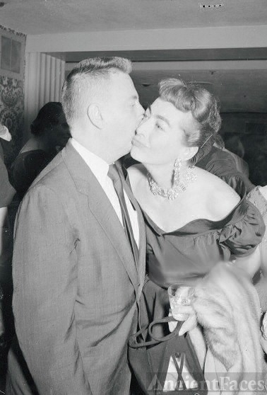 Earl Wilson and Joan Crawford